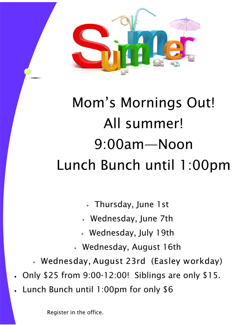 Mom's Morning Out at Aldersgate Weekday School